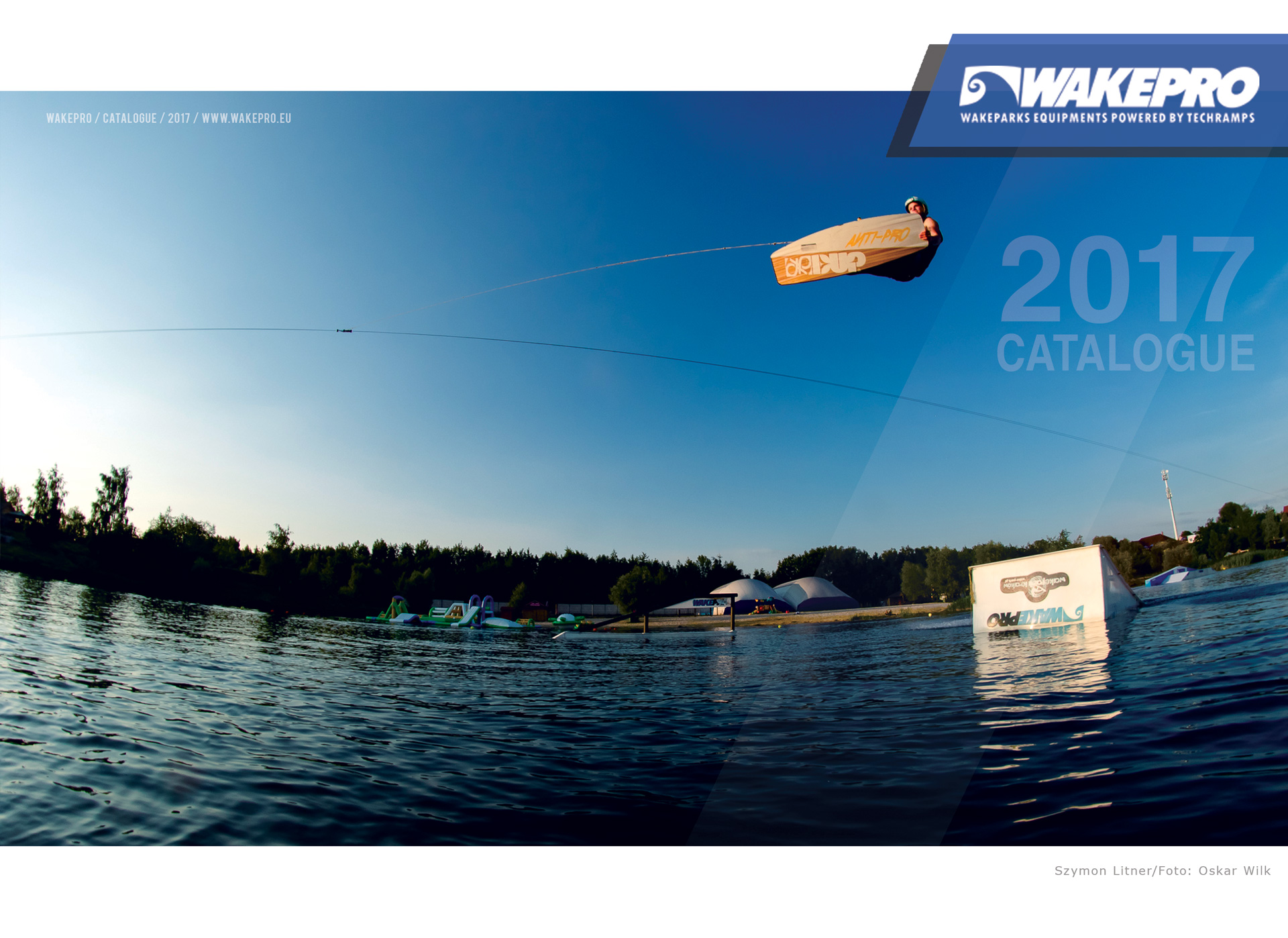 Wakepark obstacles - catalog